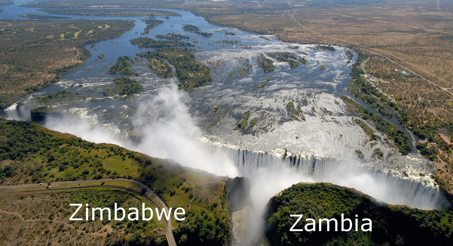 Victoria Falls Zambia Side Or Zimbabwe Side